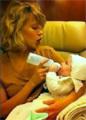 Глюк'оZa впервые показала новорождённую дочку