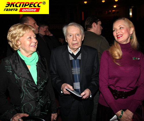 Касаткина, Колосов и Кобзон