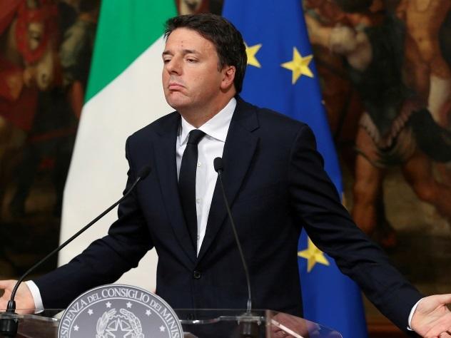 Президент Италии Серджо Маттарелла отложил отставку Ренци