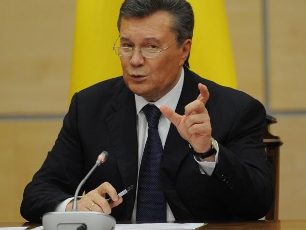 Особытиях наМайдане узнал случайно впроцессе игры втеннис— Янукович