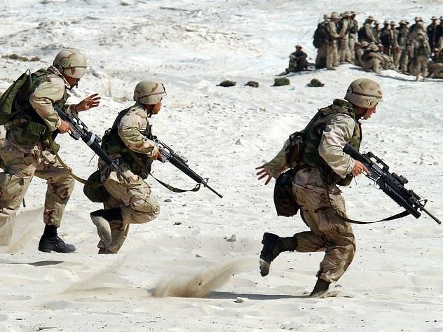 Русскоговорящая массовка научениях нужна недля войны сРоссией— Пентагон