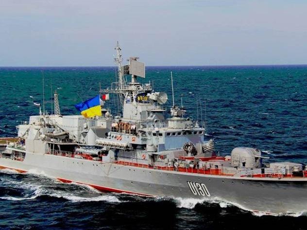 Флагманский фрегат стал «позором» флота Украины