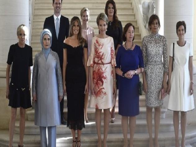 «Первый муж» Люксембурга отобедал с женами мировых лидеров