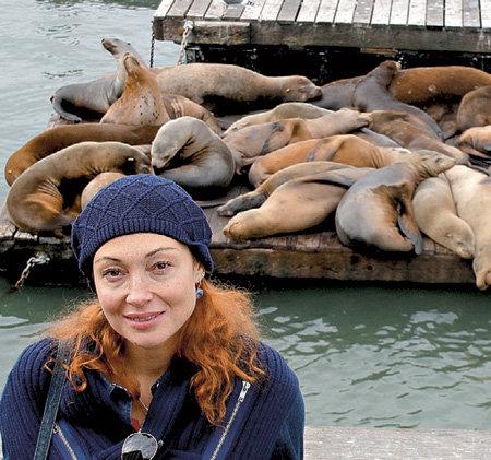 С тюленями Вику сроднила любовь к морепродуктам