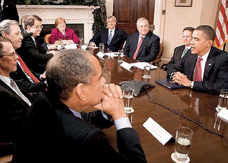 Барак ОБАМА не знает, что думают американские банкиры, когда смотрят ему в рот