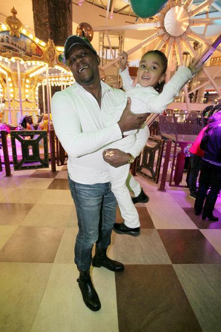Пьер НАРЦИСС с дочкой