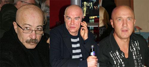 Александр РОЗЕНБАУМ, Сергей МАЗАЕВ, Николай ЛУКИНСКИЙ. Фото Ольги ЕМЕЛЬЯНОВОЙ