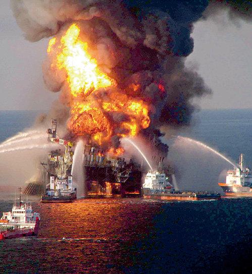 Из-за пожара на принадлежащей компании «BP» нефтедобывающей платформе «Deepwater Horizon» вся разумная жизнь на Земле может пойти коту под хвост