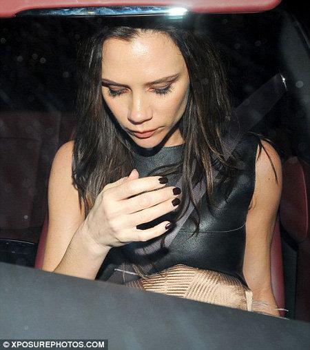Виктория страдает от токсикоза  - фото Daily Mail