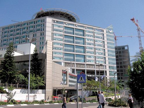 Знаменитая клиника «Ихилов» находится в центре Тель-Авива