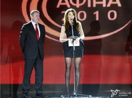 Анна СЕДОКОВА вышла на сцену премии