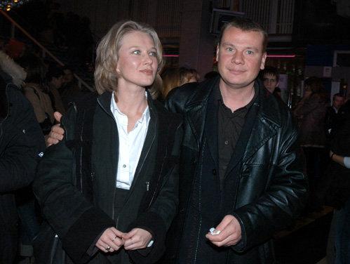 Владислав ГАЛКИН с женой Дарьей. Фото Ларисы КУДРЯВЦЕВОЙ