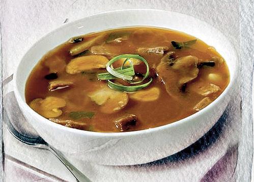 Картошка в грибном супе - гость незваный