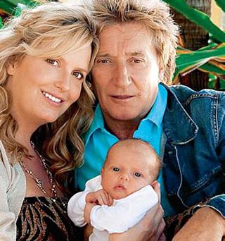 Род СТЮАРТ пообещал, что малыш Эйден у них с Пенни станет последним ребёнком