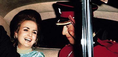 Лючия САНТА-КРУЗ и принц Чарльз в 1968 году