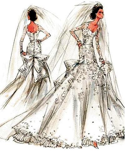 8a06468d4fd Маститые кутюрье подготовили десятки эскизов свадебного платья Кейт МИДДЛТОН
