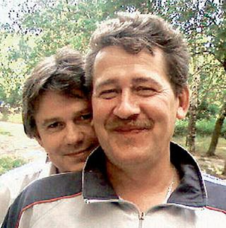 Сергей с братом Владимиром