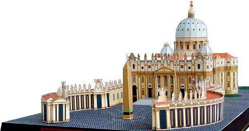 Главный храм католиков - собор Св. Петра в Ватикане