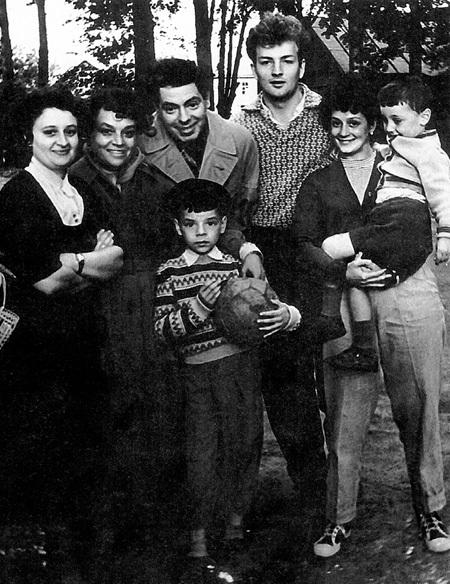 райкин аркадий семья фото