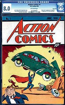 Это издание комиксов 1938 года стоит минимум $1 миллион