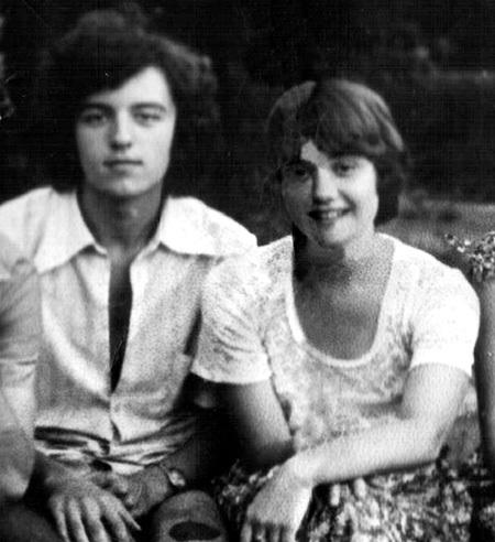 16-летняя Катя ЩЕРБАКОВА с будущим мужем Шуриком КЛИМАКОВЫМ в лето знакомства