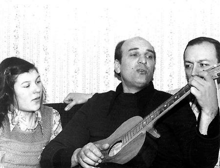 ПЕТРЕНКО в ленинградской коммуналке с дочкой Полиной