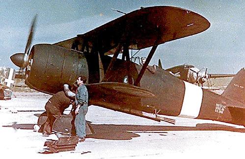Истребитель «фиат» с августа 1942-го в ВВС Италии использовался только как тренажер