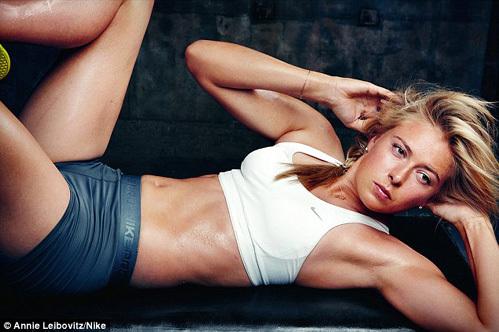 Мария ШАРАПОВА в новой рекламе Nike