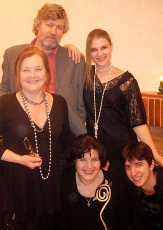 Жанна ПРОХОРЕНКО в кругу семьи