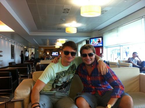 Сергей ЛАЗАРЕВ и Николай БАСКОВ отправились на отдых