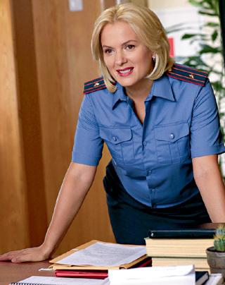 Прежде чем надеть форму, актриса долго консультировалась с полковником МВД