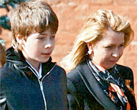 Илья с мамой Светланой