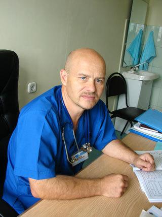 Главный детский анестезиолог-реаниматолог Минздрава Ростовской области Фёдор ШАРШОВ