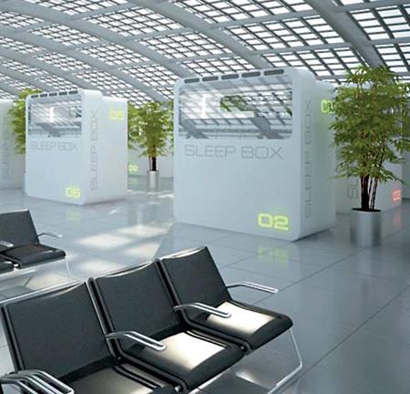 В ожидании рейса пассажиры теперь смогут уединиться и отдохнуть в тишине (фото arx-group.ru)