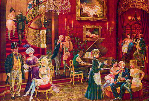 Вся русская творческая интеллигенция XIX века любила проводить свой досуг в борделе, где черпала вдохновение и сюжеты для будущих произведений