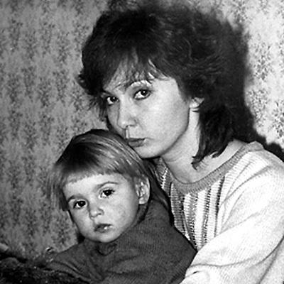 Cаша УРСУЛЯК с мамой Галиной НАДИРЛИ