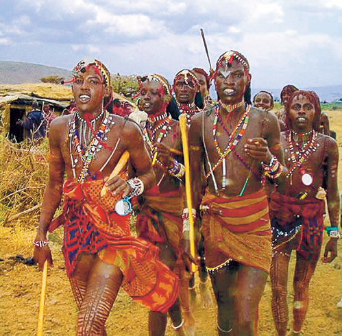 Половой член у масаев