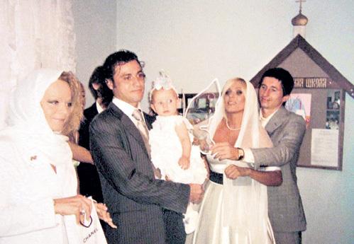Лариса ДОЛИНА и Ролан ГУСЕВ стали крёстными дочери АЛДОНИНА и НАЧАЛОВОЙ