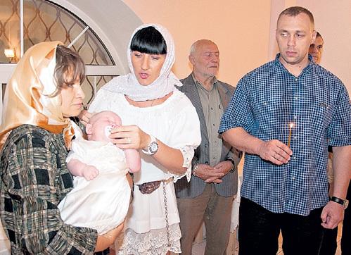 За семь месяцев до смерти Ирина ПОРОХОВЩИКОВА стала крёстной матерью