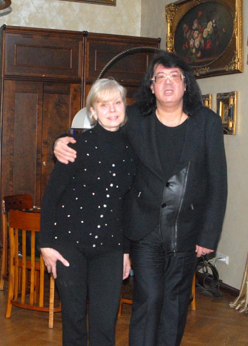 Игорь КОРНЕЛЮК с женой Мариной