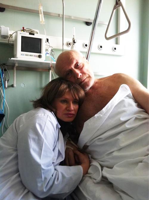 Александр ПОРОХОВЩИКОВ с женой Ириной.