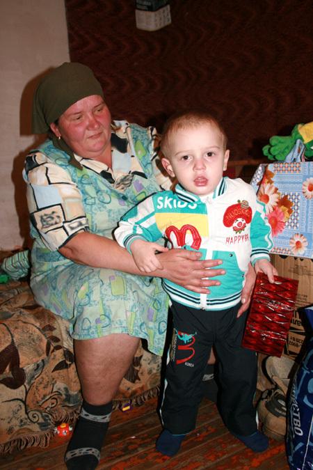 Игорь с бабушкой