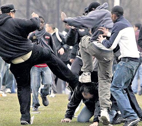 Во Франции арабские бунты шокировали коренное население