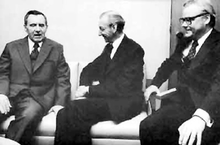 Андрей ГРОМЫКО, Генри КИССИНДЖЕР и предатель Аркадий ШЕВЧЕНКО: незадолго до побега на Запад