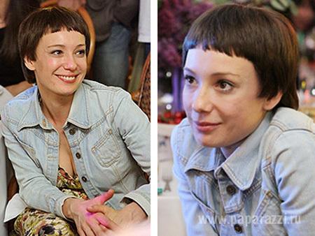 Чулпан ХАМАТОВА постриглась под мальчика (фото Paparazzi.ru)