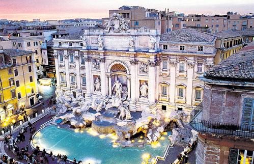 Италия привлекает памятниками архитектуры