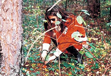 В «тихой охоте» Диане ГУРЦКОЙ помогает женская интуиция