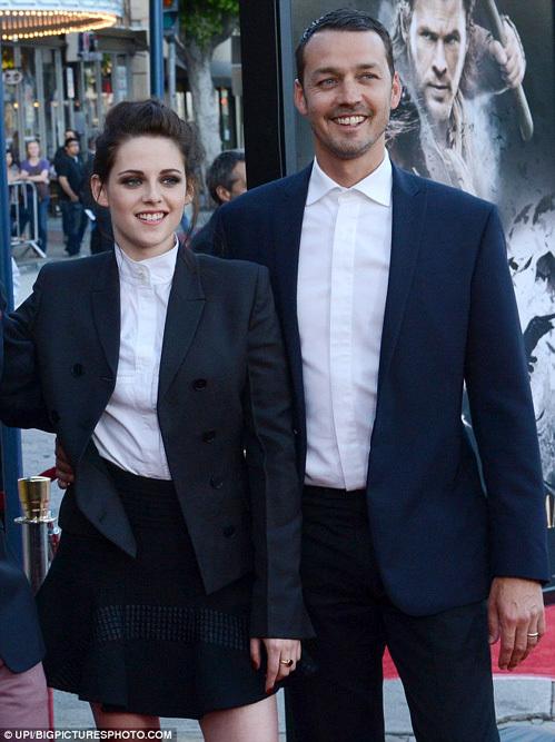 Кристен и Руперт на премьере фильма