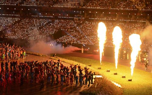 Церемония открытия Олимпиады-2012