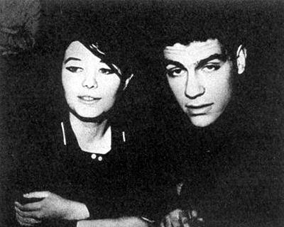 С Асей Пекуровской, 60-е годы